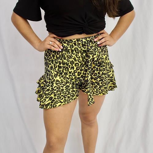 Abigail Ruffle Shorts