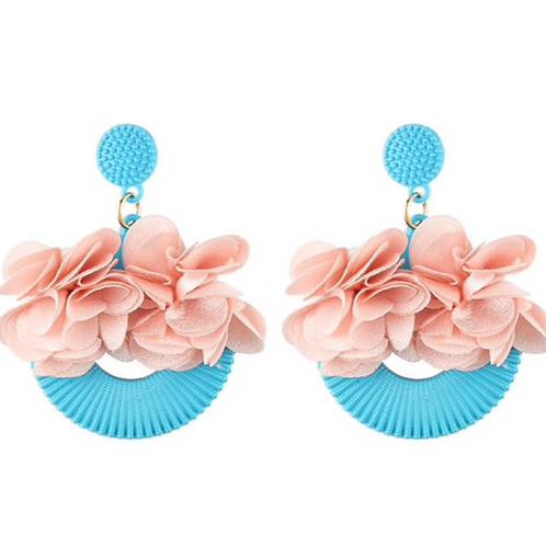 Floral Balcony Earrings