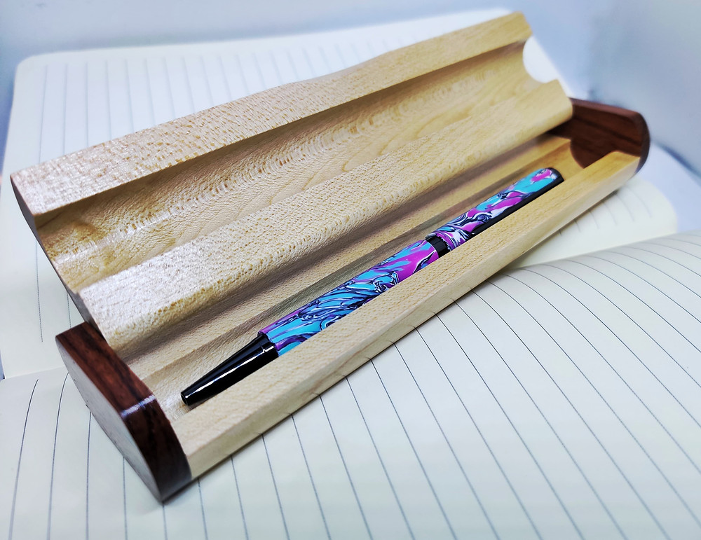Unique Ballpoint Pen - Recycled Writing Instrument - The Waste Pen