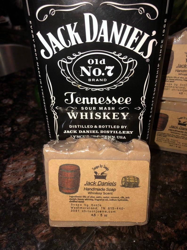 Jack Daniel's Soap - Handmade Whiskey Soap
