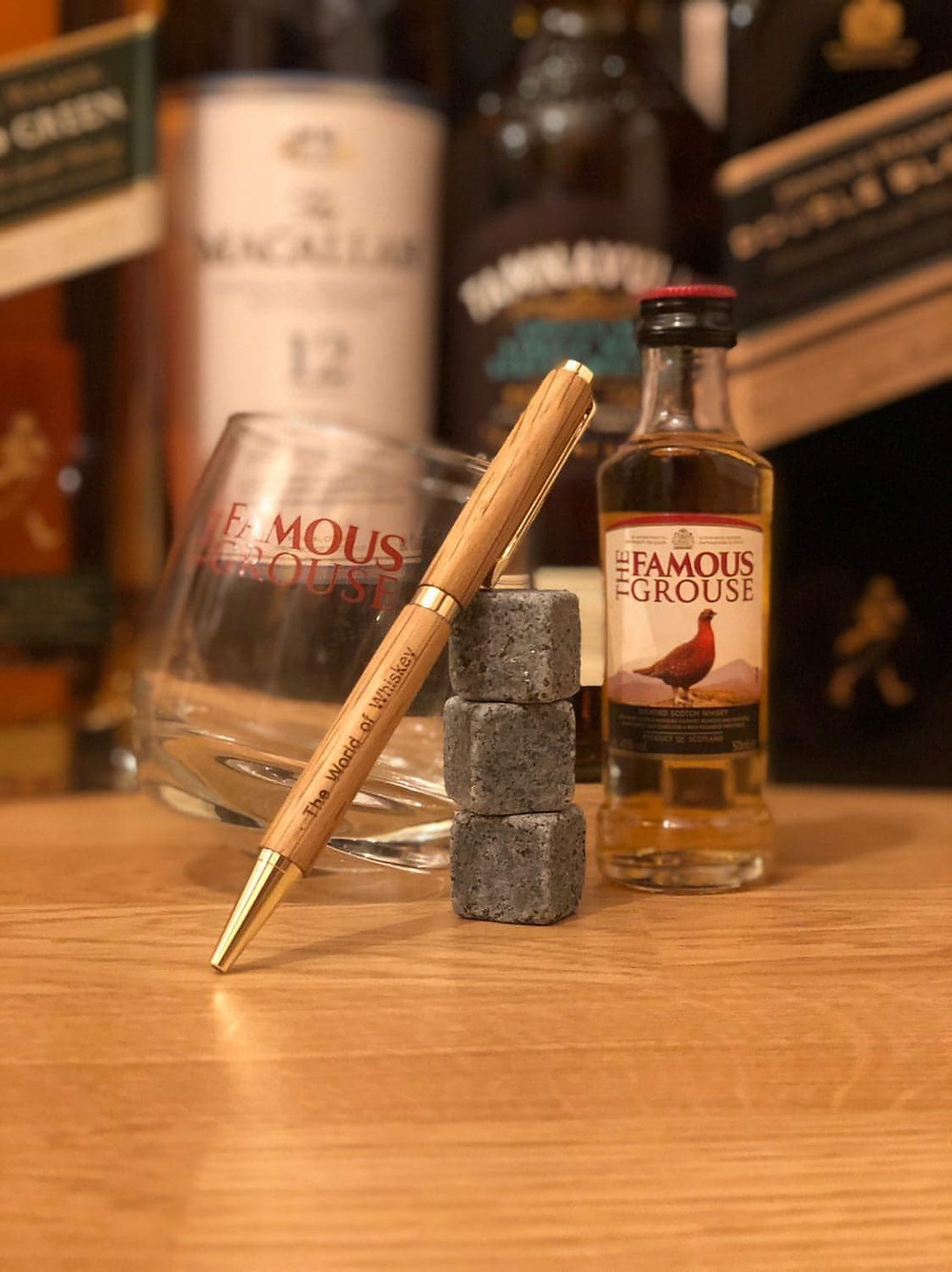 Personalized Whiskey Pen - Handmade Wooden Whiskey Pen