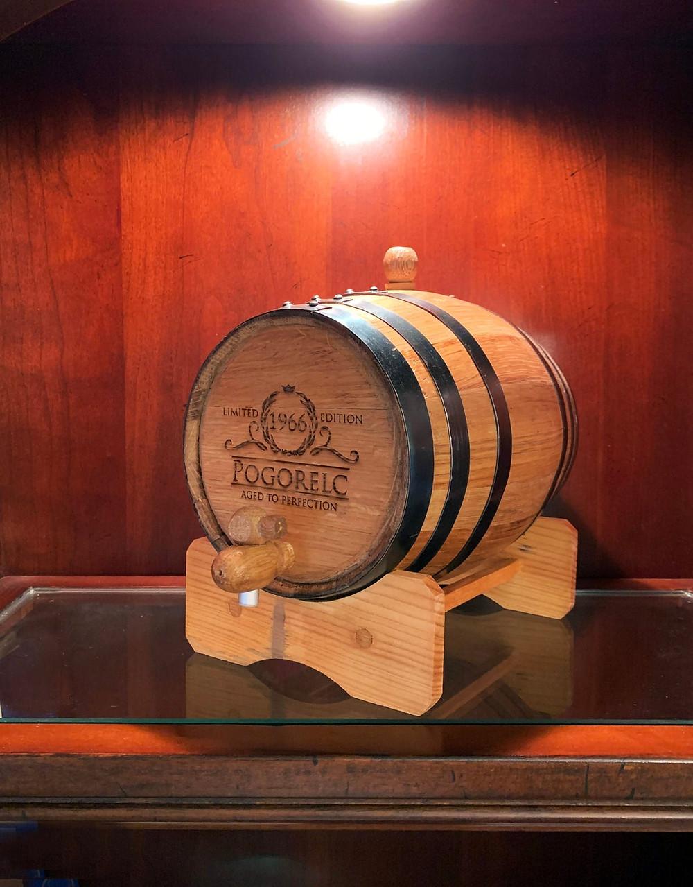 Personalized Aging Barrel - Handmade Oak Whiskey Barrel