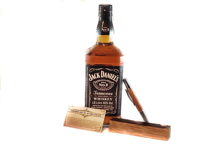 Jack Daniel's Pen - Handcrafted Luxury Whiskey Barrel Pen