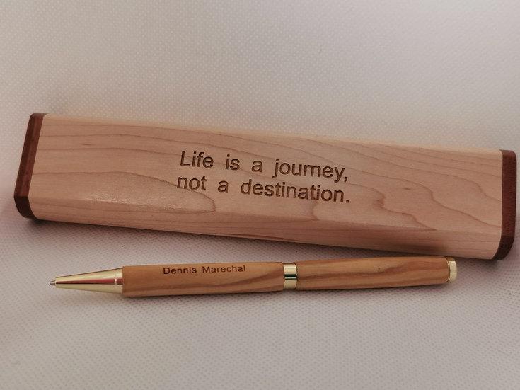 Wooden Farewell Gift Set