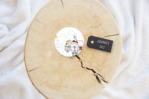 Polly - Sticker FSL Journée Ski