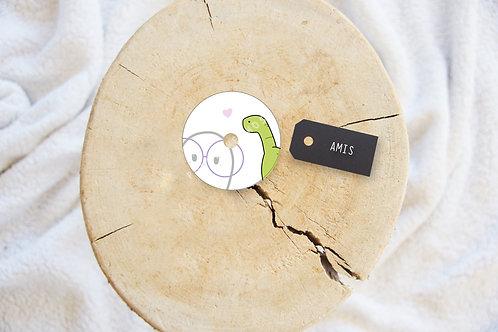 Polly - Sticker FSL Amis