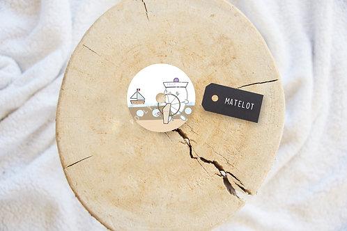 Sticker FSL - Matelot
