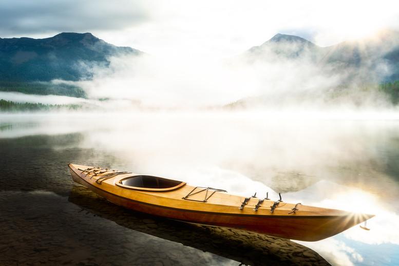 Morning Calm at Holland Lake