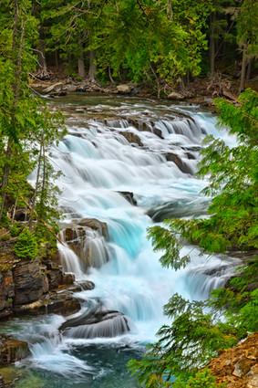 Cascades on McDonald Creek