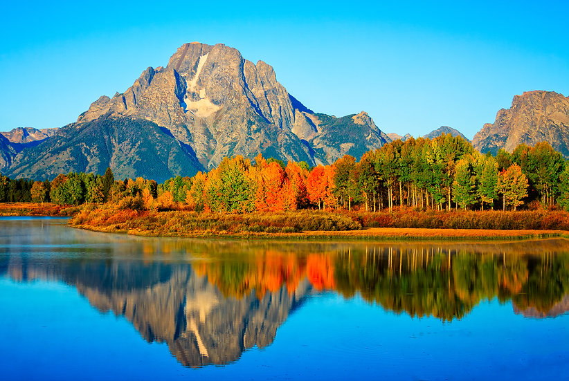 Mount Moran at Oxbow