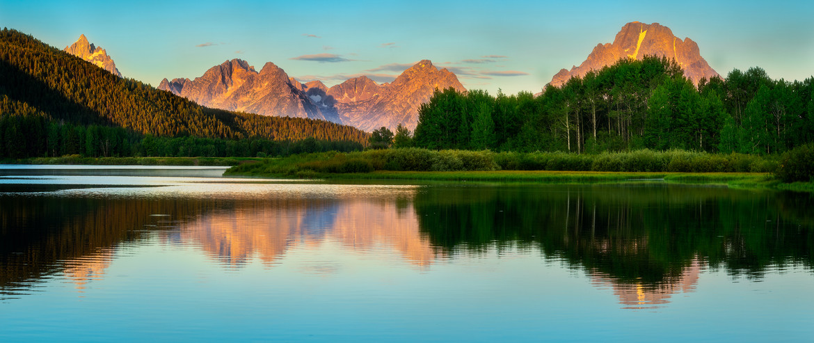 Oxbow Bend at Sunrise