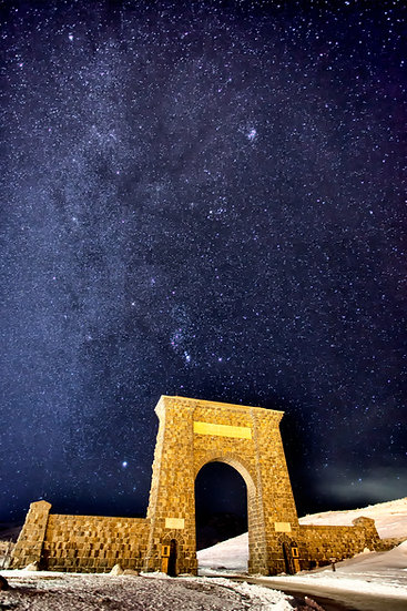 Milky Way Above the Roosevelt Arch