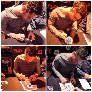 Great Success for Cam Talbot and Your Sports Memorabilia Store at Public Signing