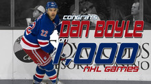 1,000 Games for Dan Boyle