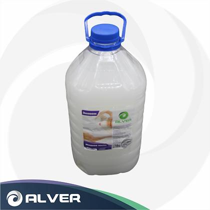 ALVER Крем-мыло жидкое д/рук, 5л Эконом (Белое)