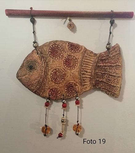 13 – pesce scultura da appendere