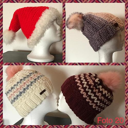 20 - berretti in lana