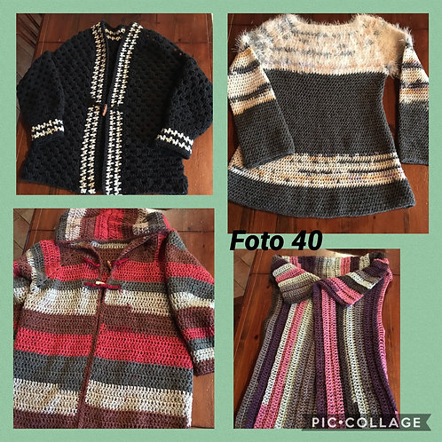 40 - maglie e gilet in lana