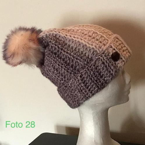 28 - berretto in lana