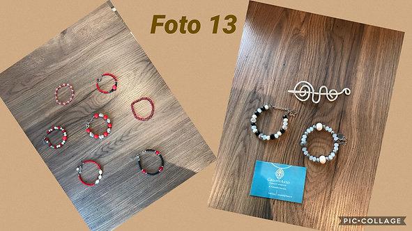 13 - braccialetti con perle