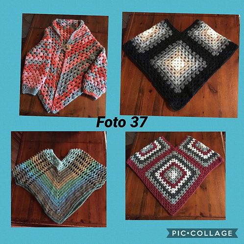 37 - poncho lana