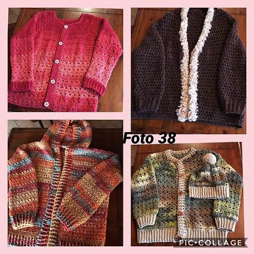 38 - cardigan lana