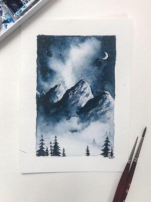 """""""Frozen Pines"""" ORIGINAL"""