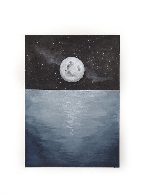 Full Moon at Sea