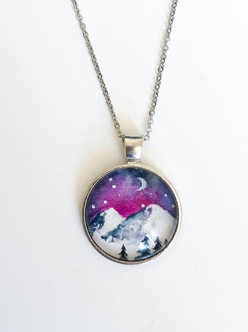 Magenta Moonrise