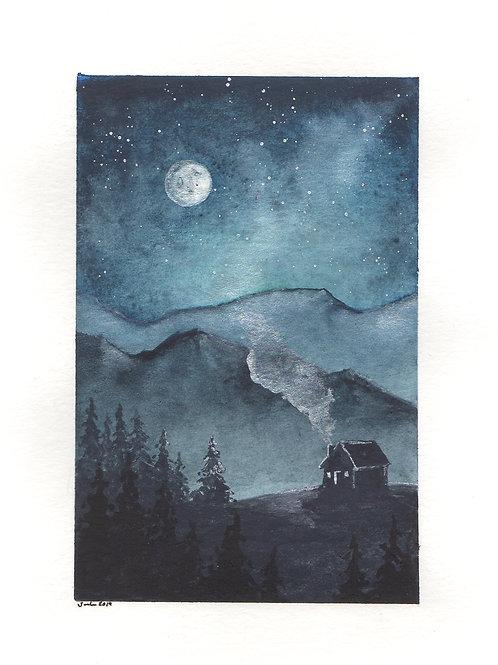 Winter Cabin Dreaming
