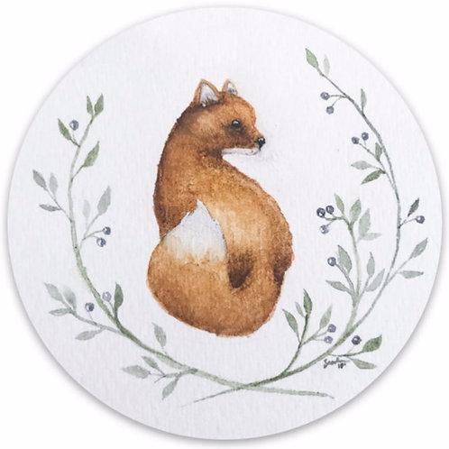 Foxy Vinyl Sticker