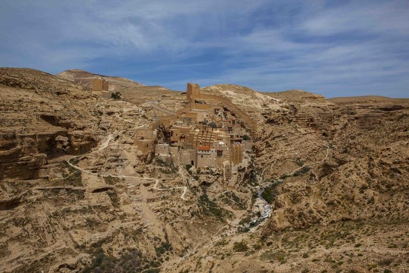 Mar saba monastery_site