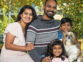 Neu in Zug: The Ranjith family and their love of Swiss nature