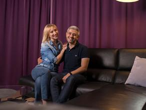 Neu in Zug: Svitlana Misa und Alessandro Vitale ziehen von der Grossstadt ins dörfliche Hünenberg