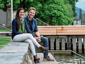 Neu in Zug: Sie haben sich in See und Berge verliebt