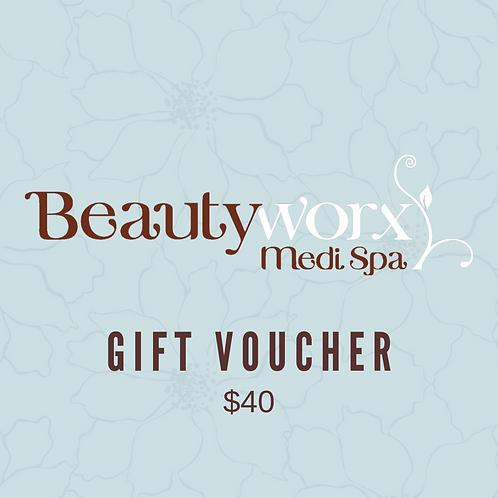 $40 Gift Voucher
