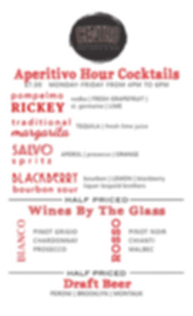 centro aperitivo cocktails
