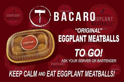 Bacaro Eggplant Meatballs