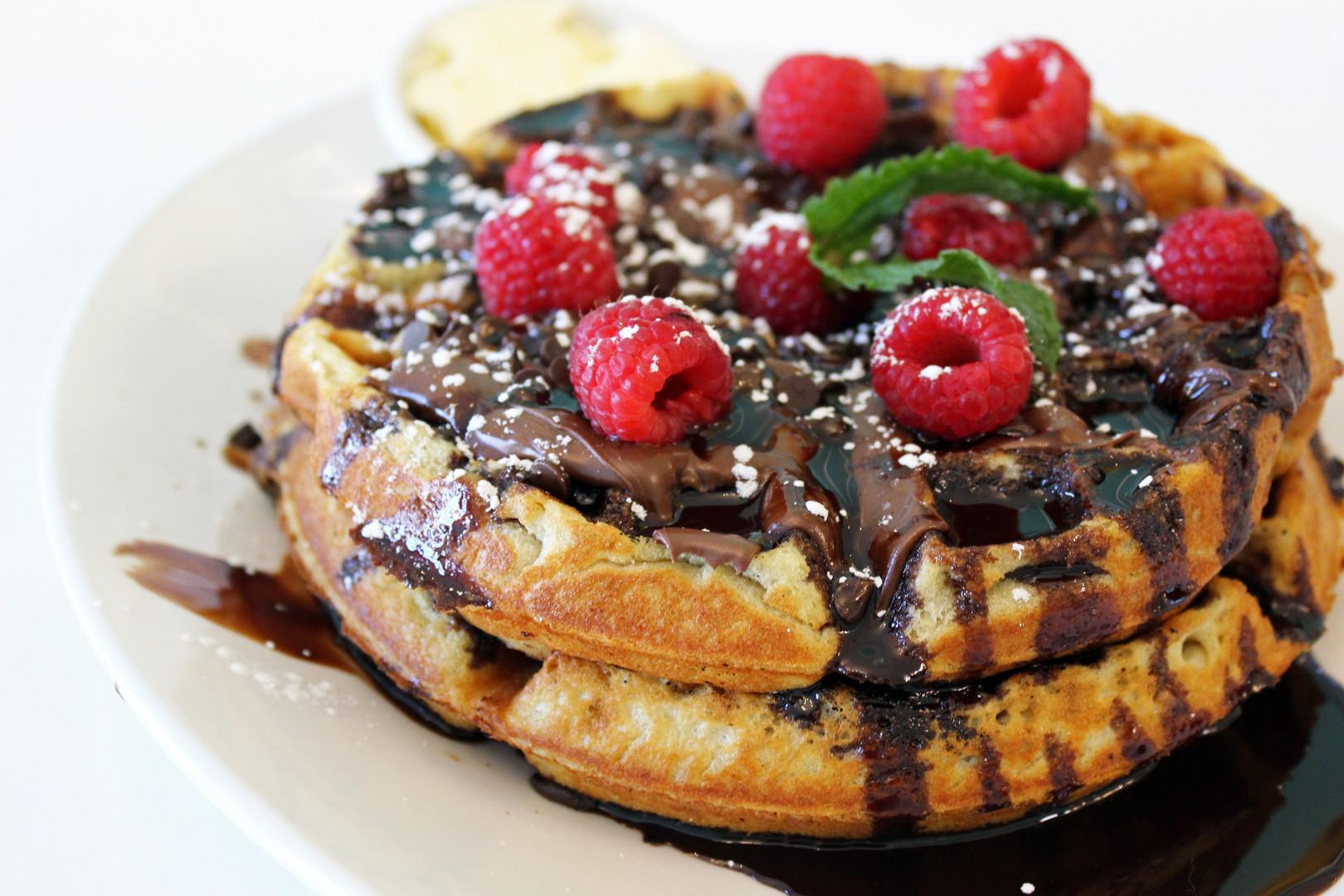 Breakfast Club Chocolate Chocolate Waffl