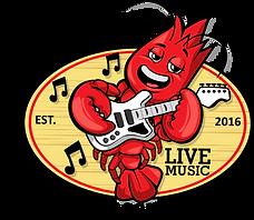 Lazy Lobster Live Music Logo