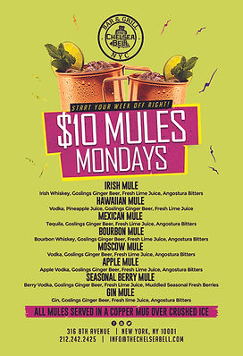 Monday Mules special