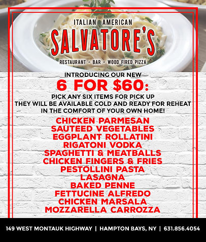 Salvatores 6 for 60