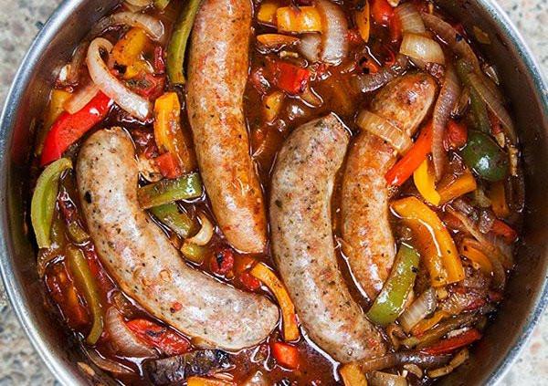 Novi Sausage & Peppers