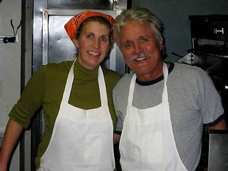 Ronnie and Shana, Owners of New Moon Cafe