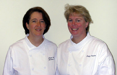 Chef Colette and Chef Pam from The Inn Spot