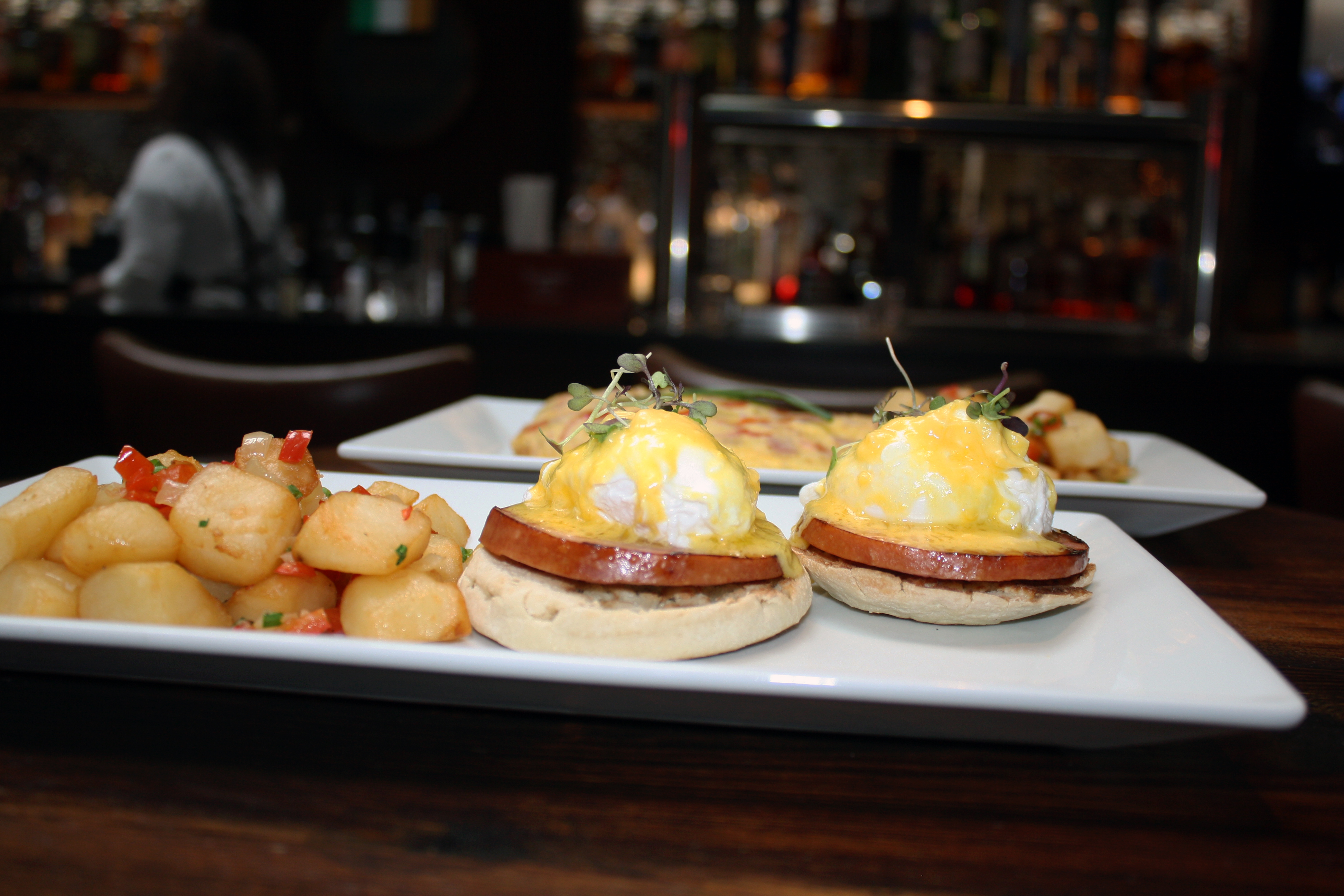 Eggs Benedict The Blacksmith in NYC
