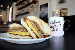 Kims Cafe Super Sandwich 11