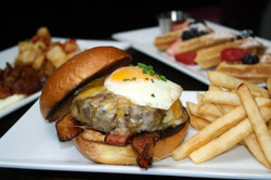 Brunch Burger The Blacksmith in NYC