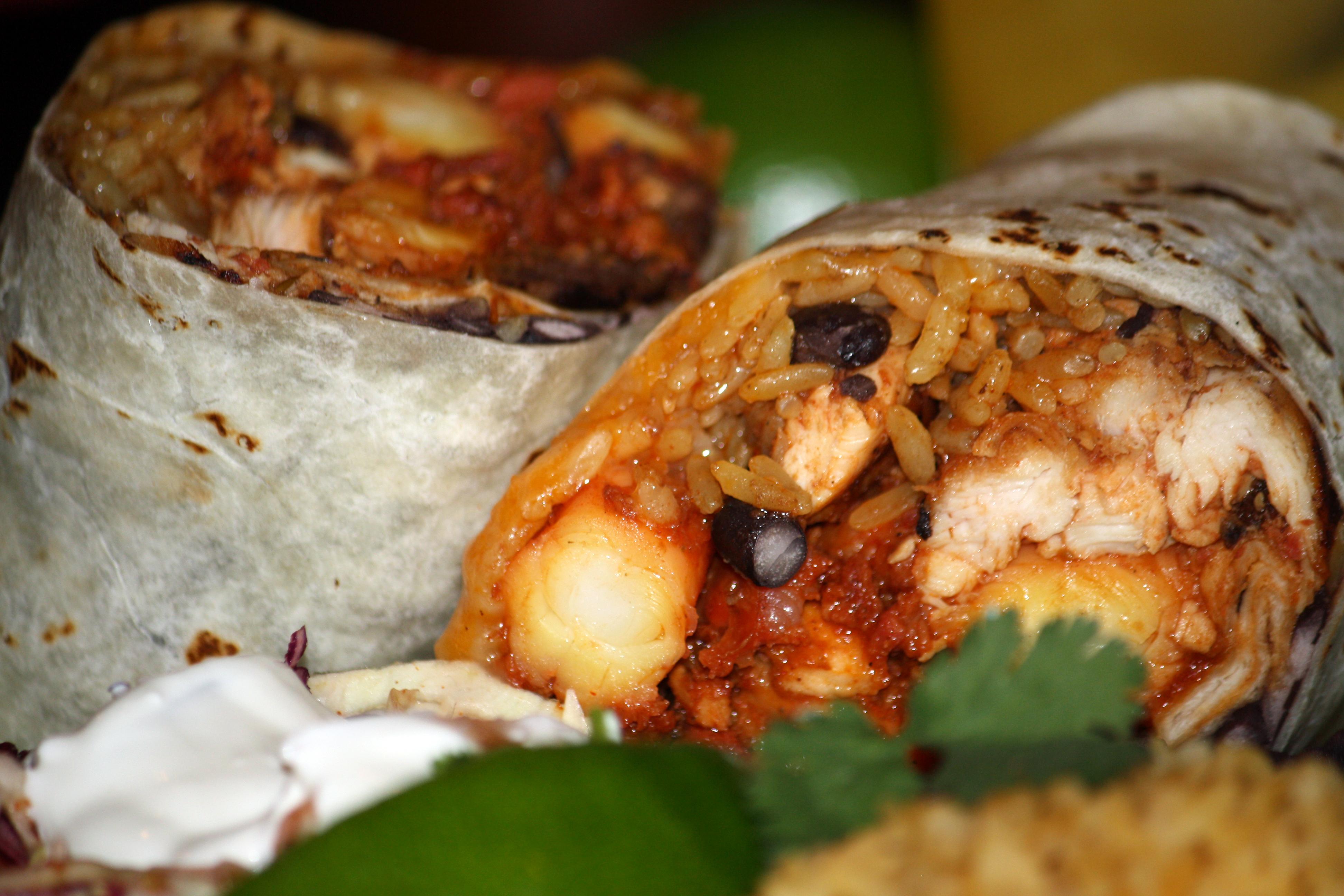 paella burrito