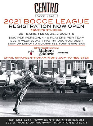 Centro Bocce League